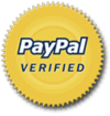 Image of Official PayPayl Verified seal