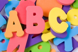 Image of ABC letters for press release marketing
